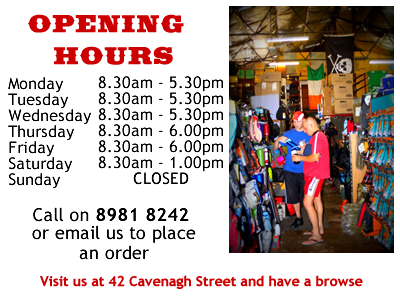 Opening Hours NT General Store